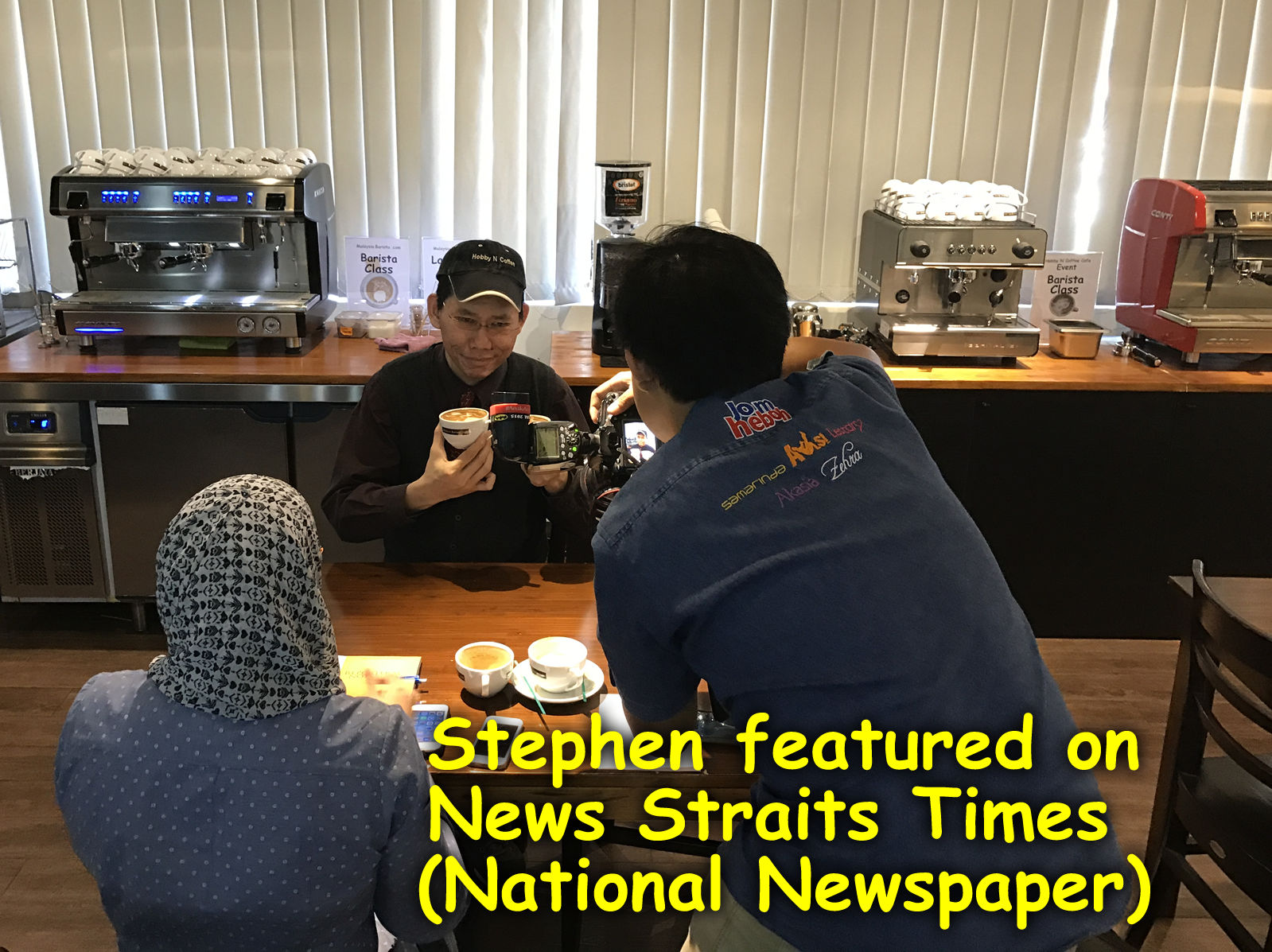 Stephen featured on NST