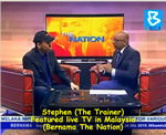 Stephen on Bernama The Nation