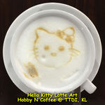 Latte Art - Hello Kitty