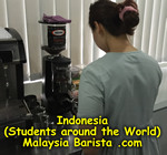 Barista from Indonesia