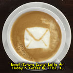 Latte Art - Email Icon
