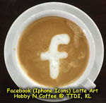 Latte Art - Facebook Icon