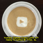 Latte Art - YouTube Icon