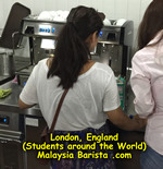 London England Barista