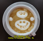Latte Art - Silly Monkey