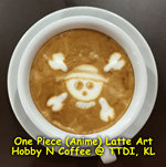 Latte Art - One Piece Anime