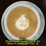 Latte Art - Garlic (PvZ)