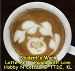 Latte Art - Panda with love